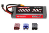 Venom 20C 4000mAh 7.4V 2-Cell R/C LiPo Car Battery - UNI Plug 2, 1554