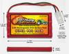 Nikko 9.6V Ni-Cd Battery Pack Substitution