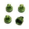 ST RACING CNC Machined Aluminum Upper Shock Caps (Green), 3767G