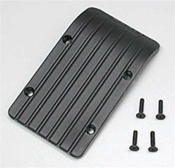RPM Front or Rear Skid/Wear Plate for the Traxxas T/E-Maxx - Black, 80132