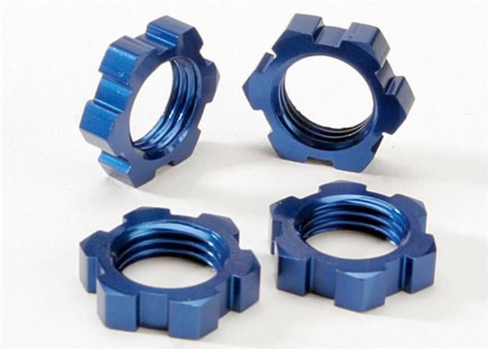 Traxxas Blue Wheel Nuts Splined 17mm, 5353