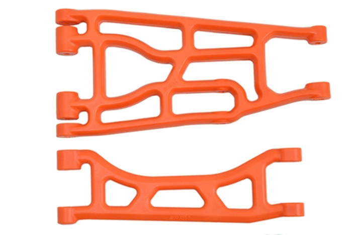RPM Upper and Lower A-Arms for Traxxas X-Maxx - Orange, 82358
