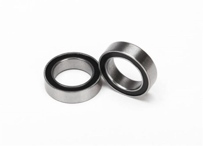Traxxas Ball Bearings (10x15x4mm, black rubber sealed), 5119A