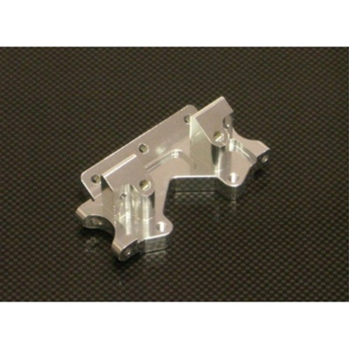 ST Racing Concepts Aluminum Front Bulkhead for Traxxas Stampede, Rustler, Bandit, Slash 2WD (Silver), 2530S
