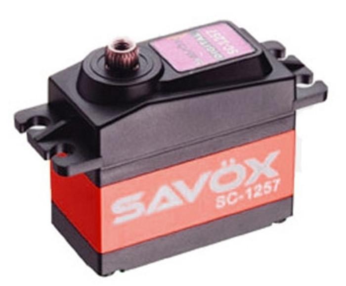 Savox SC-1257TG Super Speed Titanium Gear Digital Servo