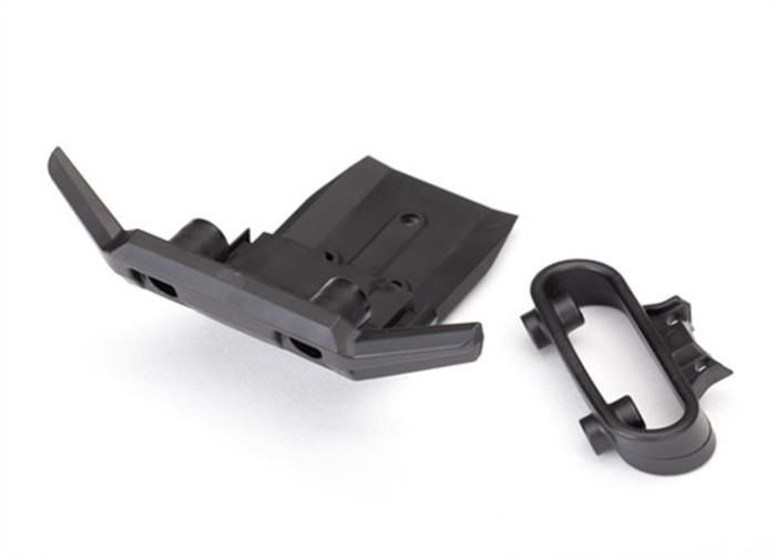 Traxxas Front Bumper with Support for Rustler 4X4, 6736