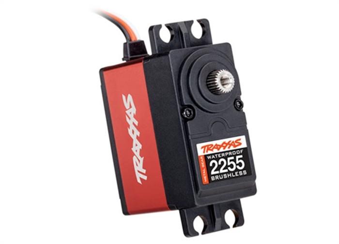 Traxxas High-Torque 400 Red Waterproof Brushless Servo, 2255