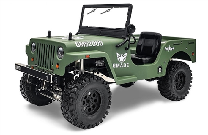 Gmade 1/10 Military Sawback 4 LS 4WD Off-Road RTR, 52011