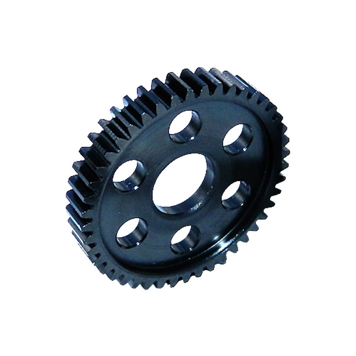 Robinson Racing 45T Blackened Hardened Steel Spur Gear for Slash/Stampede 4x4, 7945