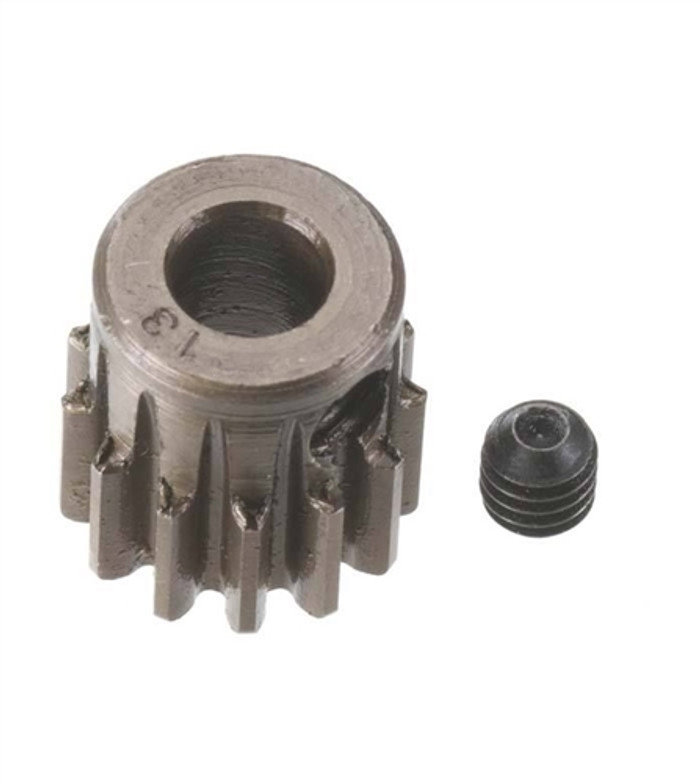 Robinson Racing 13T Extra Hard 5mm Brushless Motor Pinion Gear, 8713