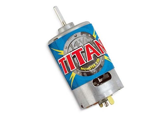 Traxxas Titan 550 Motor (21-turns/14 volts), 3975