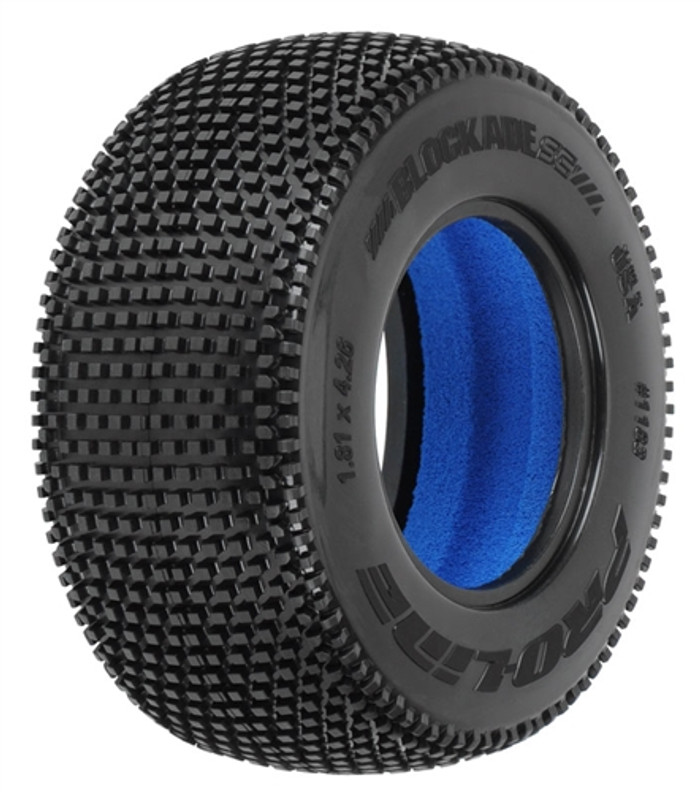 Pro-Line Blockade SC 2.2/3.0 M3 Soft Tires for SCTs Front or Rear, 1183-02
