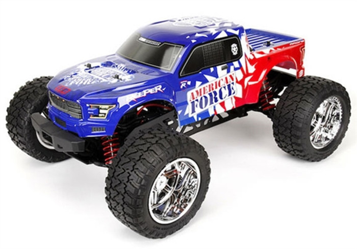 CEN Reeper American Force Edition 1/7 Mega Monster Truck RTR, 9520