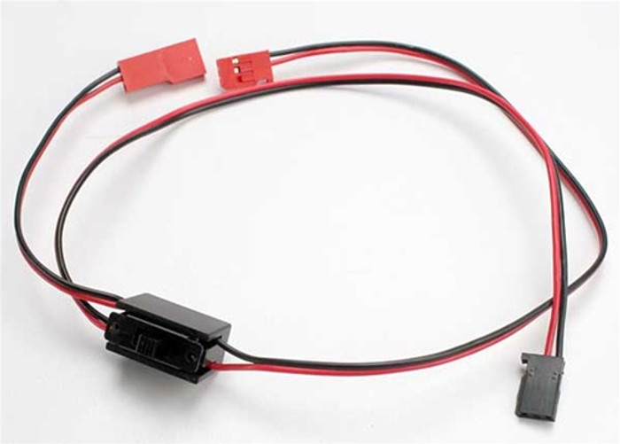 Traxxas Wiring Harness with Switch - Jato, 3038
