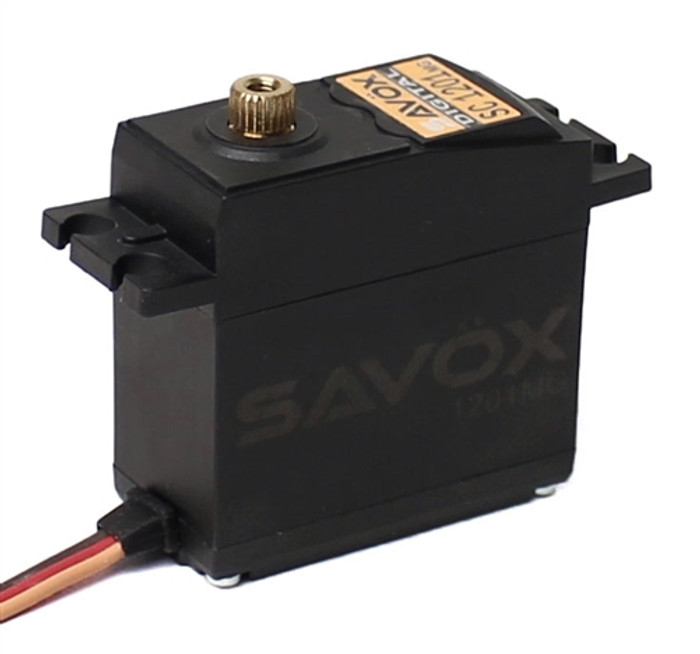 Savox SC-1201MG Hi Torque Tall Case Coreless Digital Servo