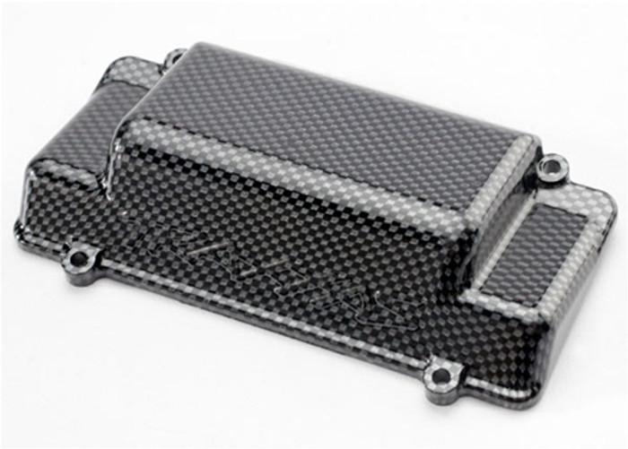 Traxxas Battery Box Cover/Rear Bumper Exo-Carbon Jato, 5515G