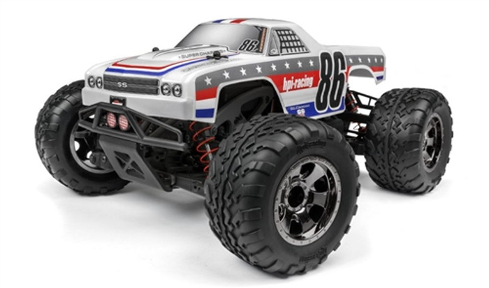 HPI Racing Savage XS Flux El Camino SS 4WD, 120093