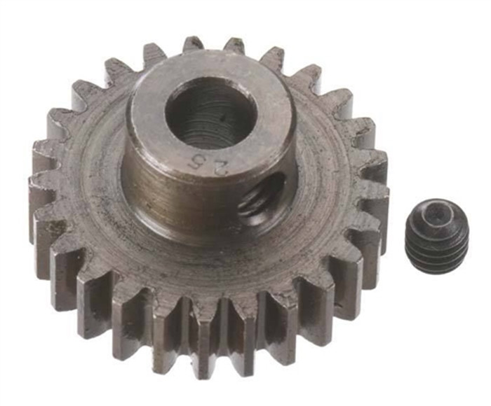 Robinson Racing 25T Extra Hard 5mm Brushless Motor Pinion Gear, 8725