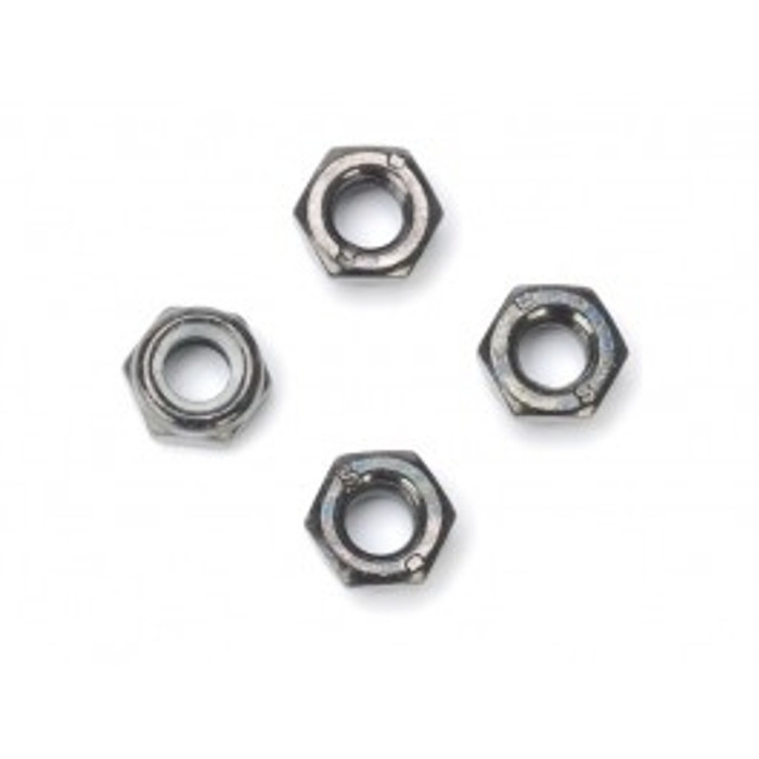 DHK 6mm Lock Nut (4) for the Wolf and Raz-R, 8131-707