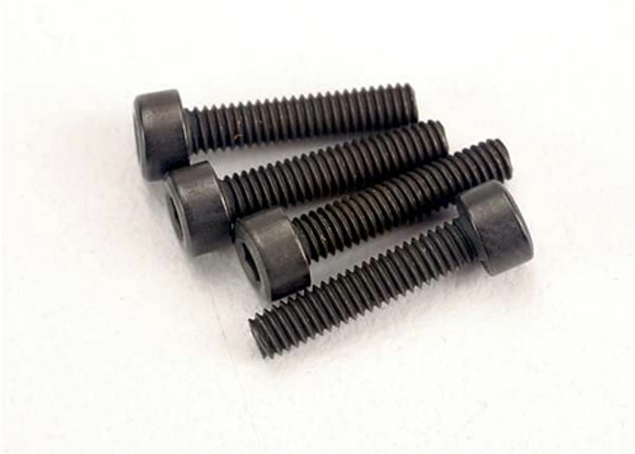 Traxxas Cap-Head Machine Screws 2.5x12mm (6), 3236