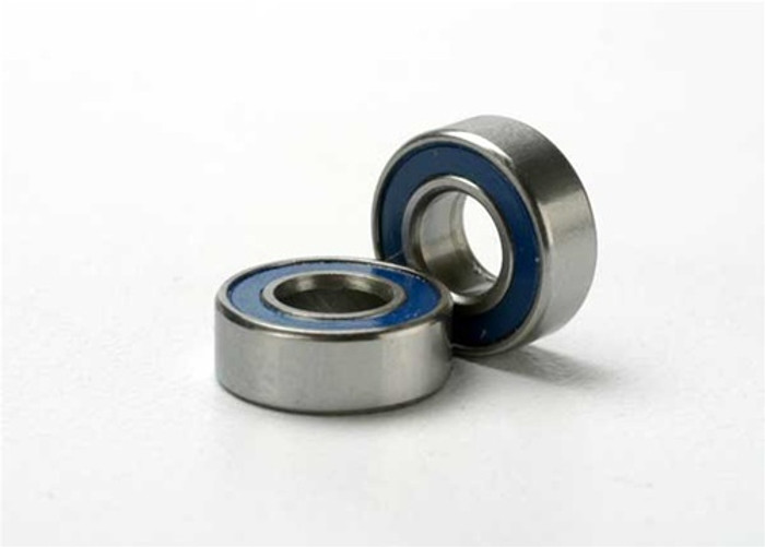 Traxxas Ball Bearings (5x11x4mm, blue rubber sealed), 5116