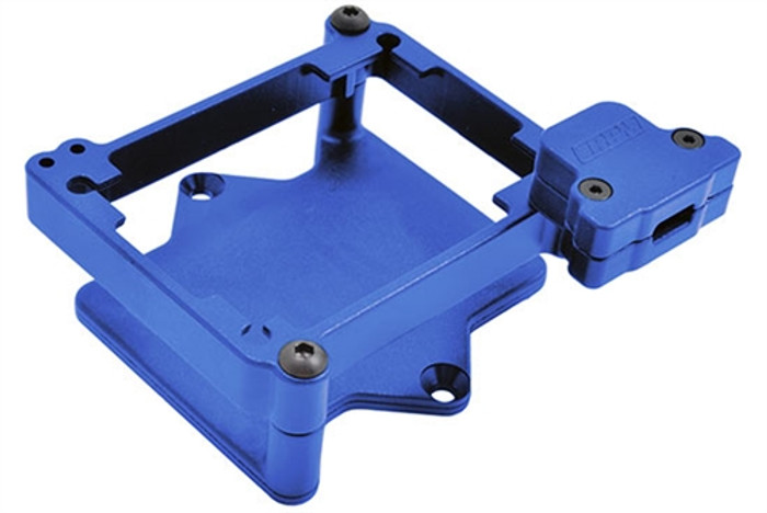 RPM Blue ESC Cage for Castle Mamba Monster X, 73765