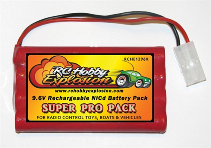 Tyco 9.6V Ni-Cd Battery Pack Substitution