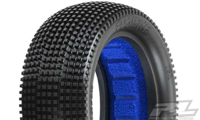 "Pro-Line Fugitive 2.2"" M4 Super Soft 4WD Off-Road Buggy Front Tires, 8296-03"
