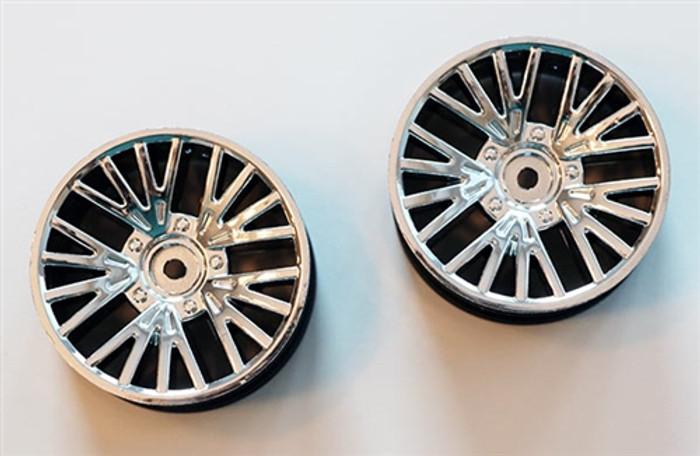 DHK Chrome Wheels (2-pcs) for the Sportra Sedan, 8139-007