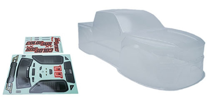 CEN Racing Clear Body for Colossus XT, GS161