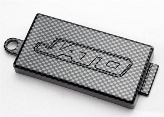 Traxxas Receiver Cover Exo-Carbon Finish Jato 3.3, 5524G