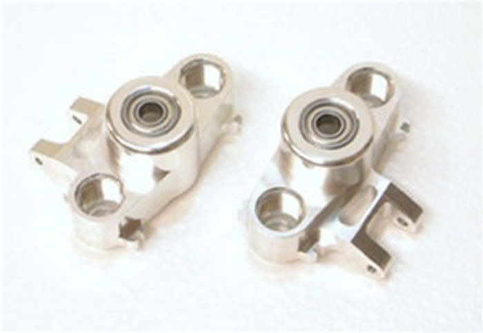 ST Racing Concepts CNC Machined Aluminum HD Steering Knuckles w/larger 6x15 bearings (Silver), 5334S