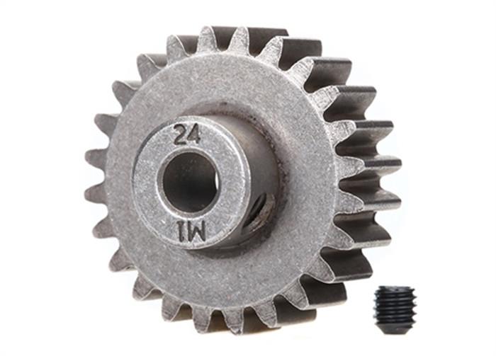 Traxxas 24T Steel Pinion Gear - X-Maxx, 6496X