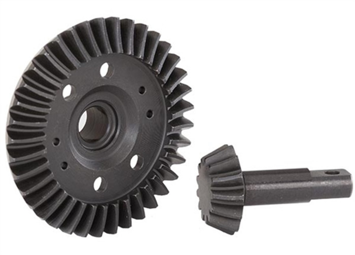 Traxxas Front Machined Differential Ring and Pinion Gears, 5379R