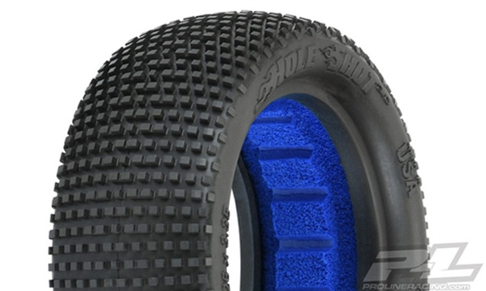 "Pro-Line Hole Shot 3.0 2.2"" M4 Super Soft 4WD Off-Road Buggy Front Tires, 8291-03"