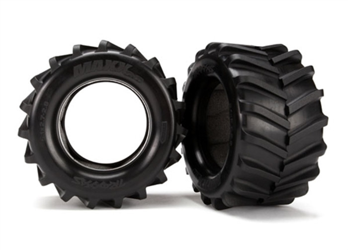 "Traxxas 2.8"" Maxx Tires for Rustler 4X4, 6770"