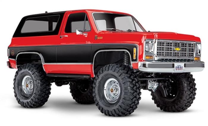 Traxxas TRX-4 Chevrolet K5 Blazer 4WD - Red, 82076-4R