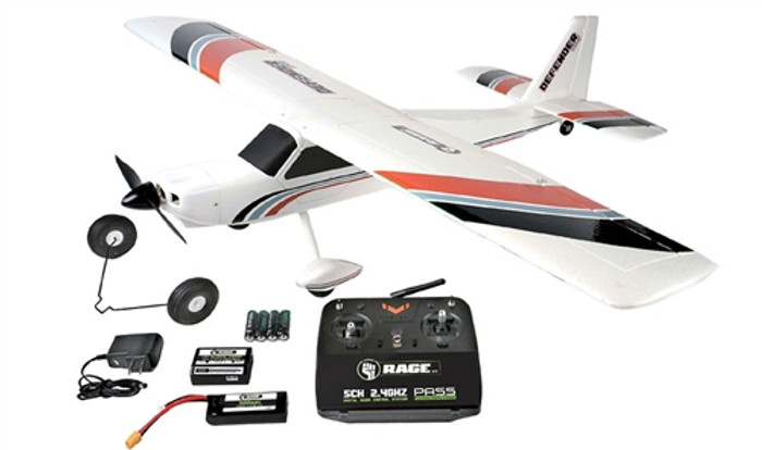 Rage Defender 1100 EP RTF Airplane, A1115