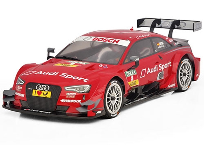 Carisma M40S Audi RS5 DTM Painted Body (#8 Red), 15371