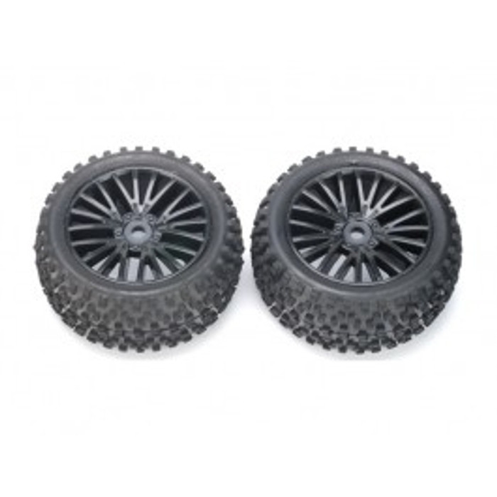 DHK Rear Tires Mounted for Wolf Buggy, 8131-010