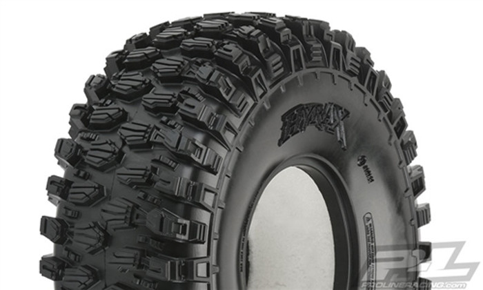 """Pro-Line Hyrax 2.2"""" G8 Rock Terrain Truck Tires for Crawler Front or Rear, 10132-14"""
