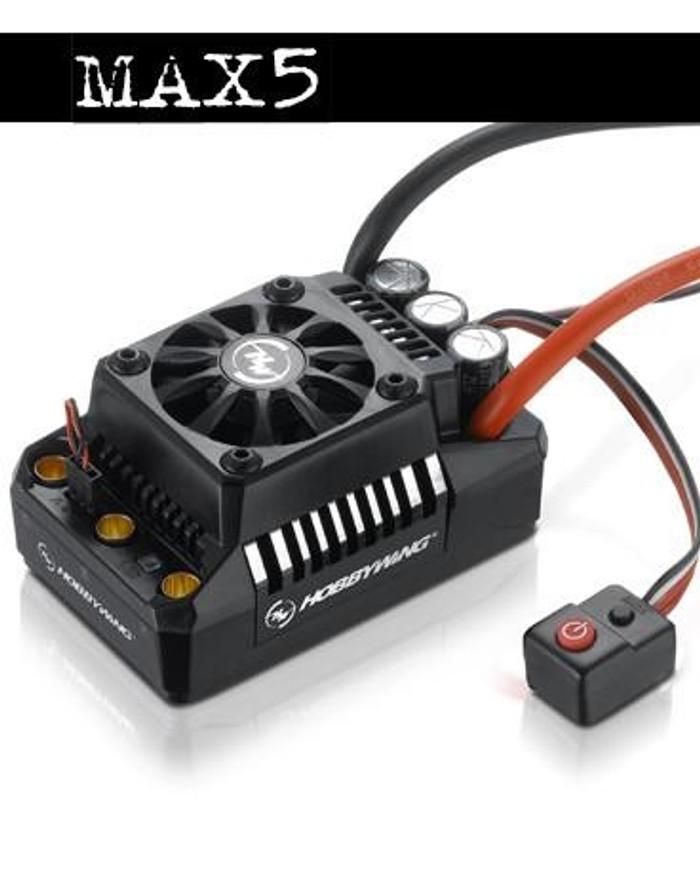 Hobbywing EZRUN MAX 5 V3 ESC, 30104000