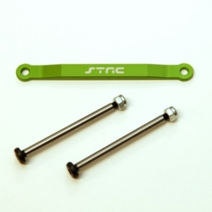 ST Racing Concepts Aluminum Hinge-Pin Brace Kit (Green), 2532XG
