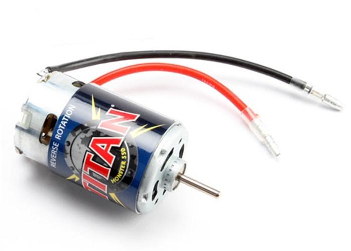 Traxxas Titan 550 Reverse Rotation Motor (21-turns/14 volts), 3975R