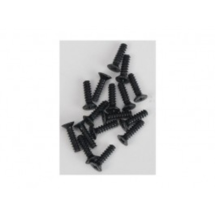 DHK 2.6x10mm FH Coarse Thread Screws (16pcs), 8381-104