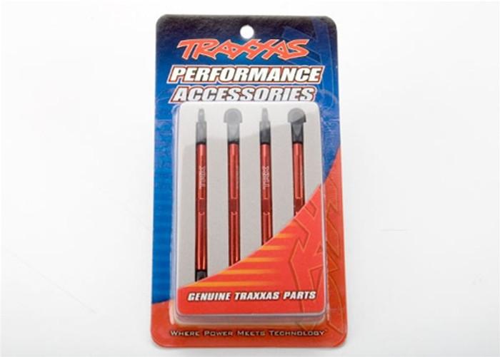 Traxxas Toe Link Red Anodized Aluminum Front & Rear 1/16 E-Revo, 7138X