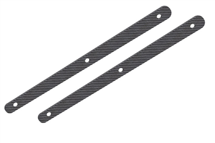 Team Corally Graphite Rear Chassis Brace Stiffener - 1/8, C-00180-256