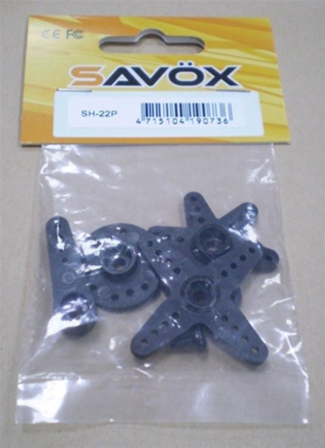 Savox SH22p Servo Horn - Full Set