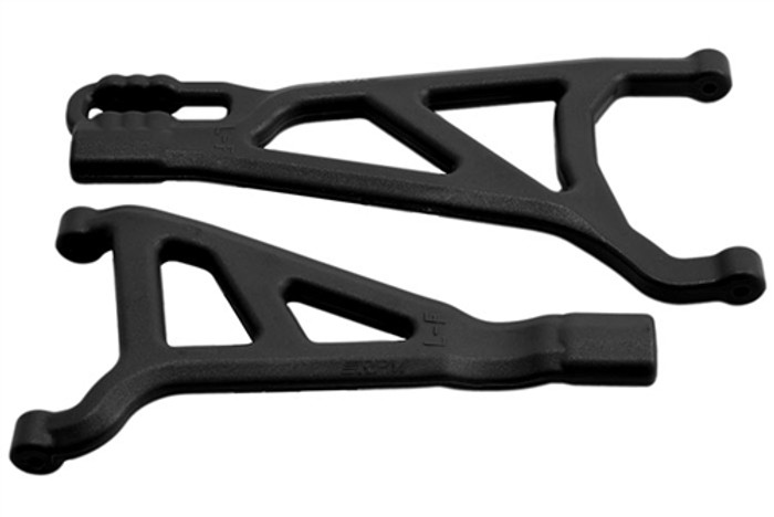 RPM Front Left A-Arms for Traxxas Revo 2.0 - Black, 81512