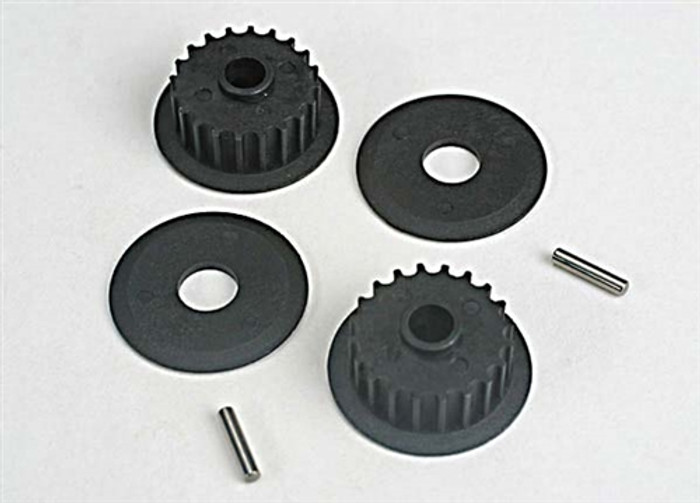 Traxxas 20-Groove Middle Pulleys for Nitro 4-TEC, 4895